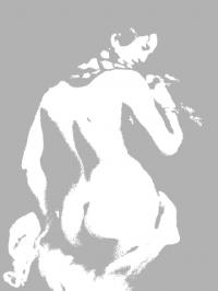 Théodore Chassériau, Badende, 1842